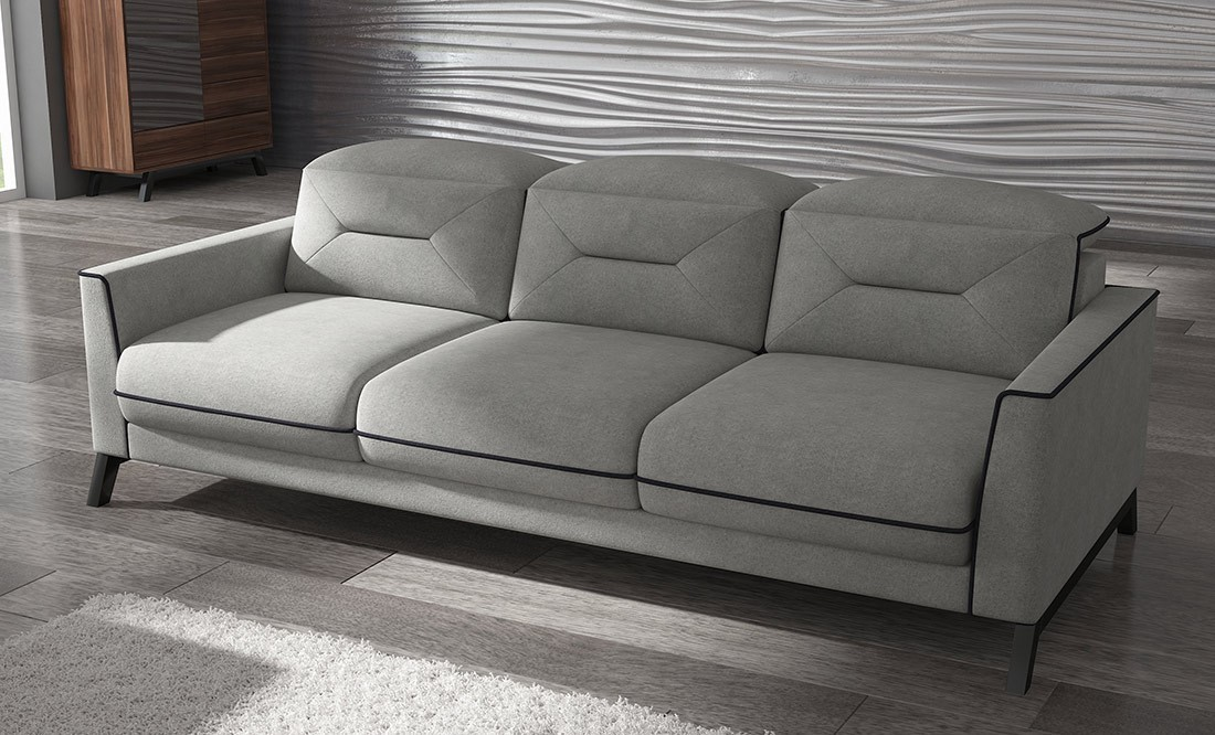 sofa retro 236 cm. Black Bedroom Furniture Sets. Home Design Ideas