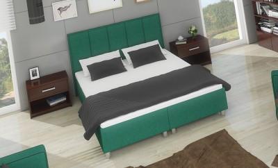Łóżko z wbudowanym materacem