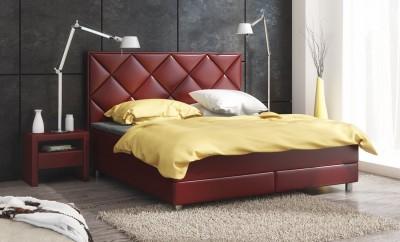 Łóżko z wbudowanym materacem Wellness Box Comfort
