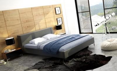 Łóżko Loft w nowoczesnym wnętrzu