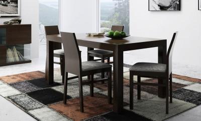 Klasyczny, fornirowany stół Borg I