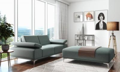Sofa Lazarro 176 cm z opcjonalną pufą