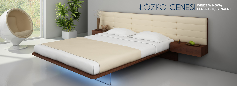 Podświetlane łóżko genesi