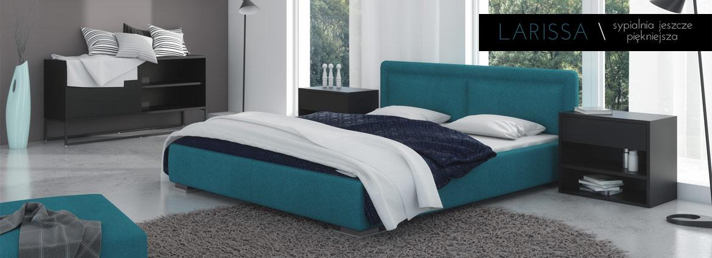 Nowoczesne łóżko Larissa